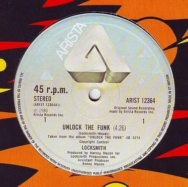 LOCKSMITH - UNLOCK THE FUNK - ARISTA