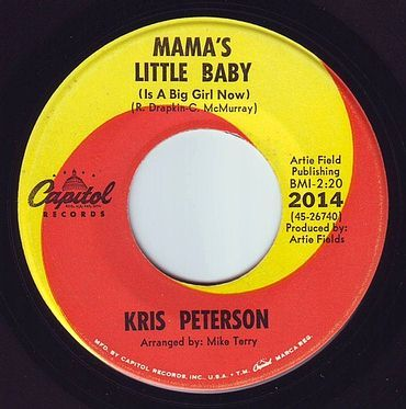 KRIS PETERSON - MAMA'S LITTLE BABY - CAPITOL