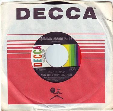 JAMO THOMAS & THE PARTY BROTHERS - BAHAMA MAMA - DECCA
