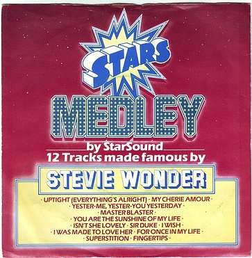 STAR SOUND - STARS ON STEVIE - CBS