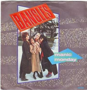 BANGLES - MANIC MONDAY - CBS