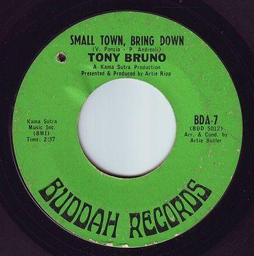 TONY BRUNO - SMALL TOWN, BRING DOWN - BUDDAH