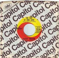 NANCY WILSON - THE END OF OUR LOVE - CAPITOL