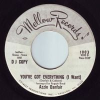 AZZIE DANFAIR - YOU'VE GOT EVERYTHING - MELLOW DEMO