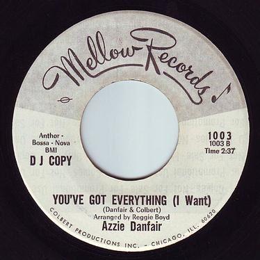 AZZIE DANFAIR - YOU'VE GOT EVERYTHING - MELLOW DEMO