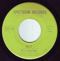 BILLY SHA RAE - DO IT - SPECTRUM