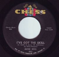 JACKIE ROSS - I'VE GOT THE SKILL - CHESS