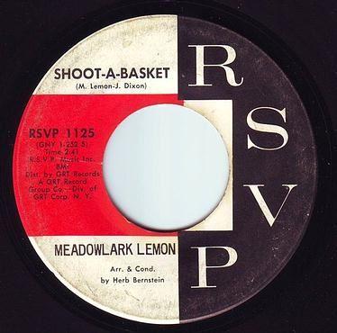 MEADOWLARK LEMON - SHOOT-A-BASKET - RSVP
