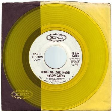 NANCY AMES - FRIENDS AND LOVERS FOREVER - EPIC DEMO