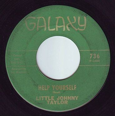 LITTLE JOHNNY TAYLOR - HELP YOURSELF - GALAXY