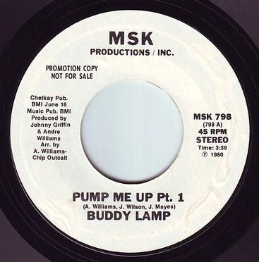 BUDDY LAMP - PUMP ME UP - MSK DEMO