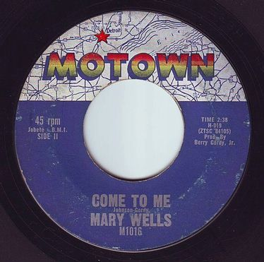 MARY WELLS - COME TO ME - MOTOWN