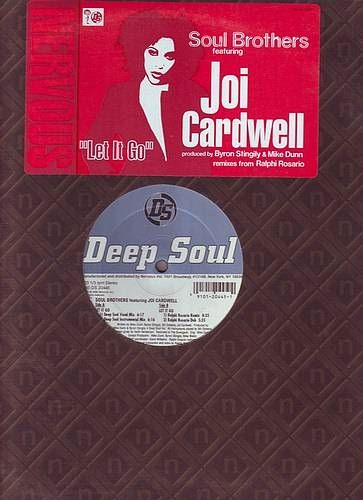 SOUL BROTHERS feat JOI CARDWELL - LET IT GO - DEEP SOUL