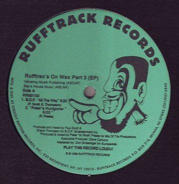 RUFFTRAX'S ON WAX PART 3 (EP) - RUFFTRACK