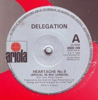 DELEGATION - HEARTACHE No.9 - ARIOLA