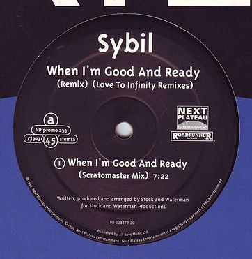 SYBIL - WHEN I'M GOOD AND READY - NEXT PLATEAU