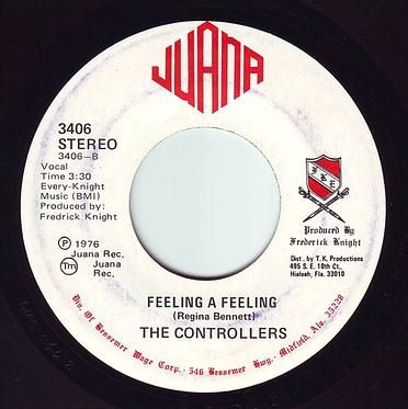 CONTROLLERS - FEELING A FEELING - JUANA