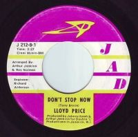 LLOYD PRICE - DON'T STOP NOW - JAD