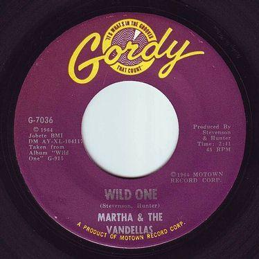MARTHA & THE VANDELLAS - WILD ONE - GORDY