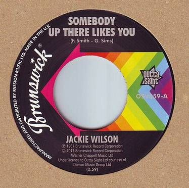 JACKIE WILSON - SOMEBODY UP THERE LIKES YOU - BRUNSWICK