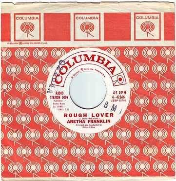 ARETHA FRANKLIN - ROUGH LOVER - COLUMBIA DEMO