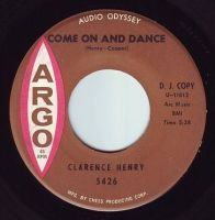 CLARENCE HENRY - COME ON AND DANCE - ARGO DEMO