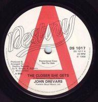 JOHN DREVARS - THE CLOSER SHE GETS - DESTINY DEMO