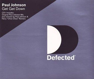PAUL JOHNSON - GET GET DOWN - DEFECTED CD