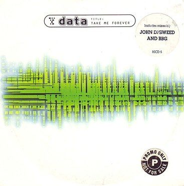 DATA - TAKE ME FOREVER - HI LIFE PROMO CD