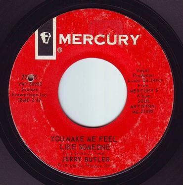 JERRY BUTLER - YOU MAKE ME FEEL LIKE SOMEONE - MERCURY