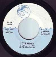 LEER BROTHERS - LOVE FEVER - INTREPID