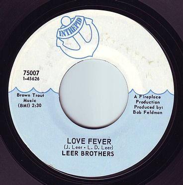 LEER BROTHERS - LOVE FEVER - INTREPID