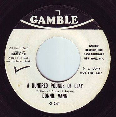 DONNIE VANN - A HUNDRED POUNDS OF CLAY - GAMBLE DEMO