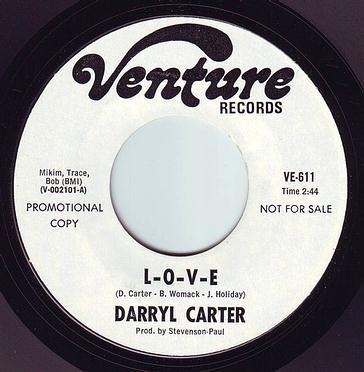 DARRYL CARTER - L-O-V-E - VENTURE DEMO