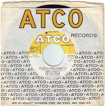 BEN E. KING & DEE DEE SHARP - WE GOT A THING GOING ON - ATCO