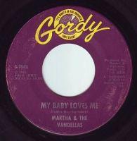 MARTHA & THE VANDELLAS - MY BABY LOVES ME - GORDY