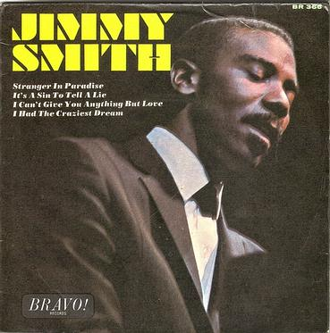 JIMMY SMITH - 4 TRACK EP - BRAVO