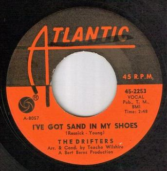 DRIFTERS - I'VE GOT SAND IN MY SHOES - ATLANTIC