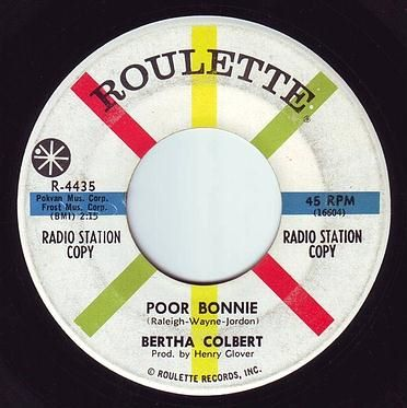 BERTHA COLBERT - POOR BONNIE - ROULETTE DEMO