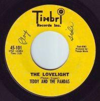 TEDDY & THE PANDAS - THE LOVELIGHT - TIMBRL