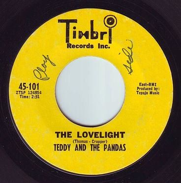TEDDY & THE PANDAS - THE LOVELIGHT - TIMBRL