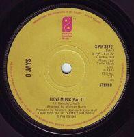 O'JAYS - I LOVE MUSIC - PIR