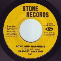 EARNEST JACKSON - LOVE AND HAPPINESS - STONE