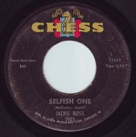 JACKIE ROSS - SELFISH ONE - CHESS
