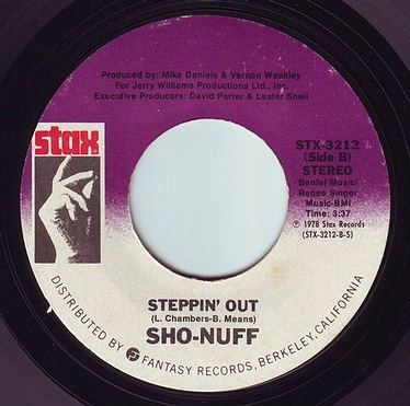 SHO-NUFF - STEPPIN' OUT - STAX