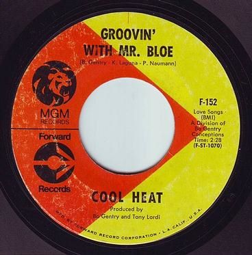 COOL HEAT - GROOVIN' WITH MR BLOE - FORWARD