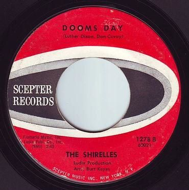 SHIRELLES - DOOMS DAY - SCEPTER