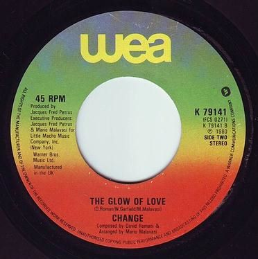 CHANGE - THE GLOW OF LOVE - WEA