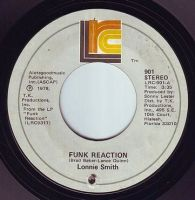 LONNIE SMITH - FUNK REACTION - LRC