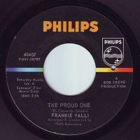 FRANKIE VALLI - THE PROUD ONE - PHILIPS